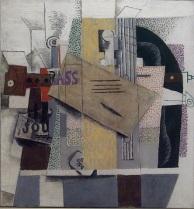 Picasso: Violin, 1914
