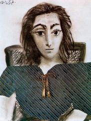 Picasso: Portrait of Jacqueline, 1957